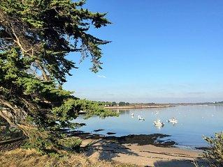Maison entre mer et golfe du Morbihan