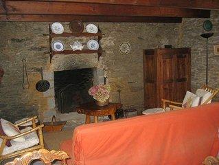 Jolie maison de pecheur au coeur du village de Kerohet a 300 m des Grands Sables