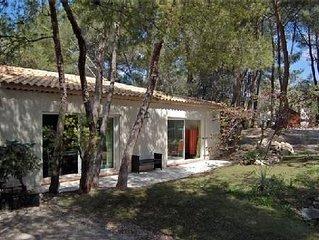 Villa T2 plain pied attenant à villa sous les pins
