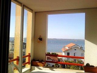 T2 avec terrasse, belle vue mer
