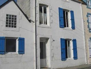Maison de pecheur (sans jardin) tout confort en plein centre du Guilvinec