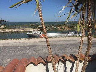 Maison de vacances au bord de l'eau dans un endroit de rève