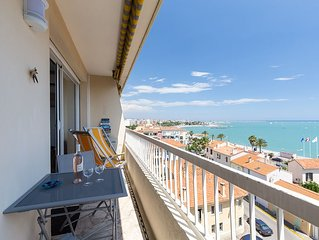 F2 FACE MER, TERRASSE, ASCENSEUR, PARKING GRATUIT / 2 BEDS, FRONT BEACH, TERRACE