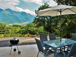 Appartement calme vue sur les montagnes
