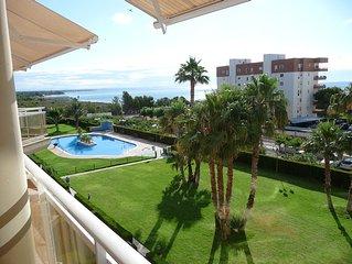 Appartement Miami Playa, 6 personnes,100 m de la plage