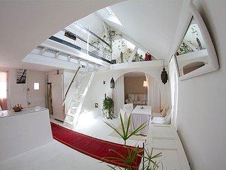 Loft atypique avec hammam situe au ceour d'Auray & a deux pas de Saint Goustan