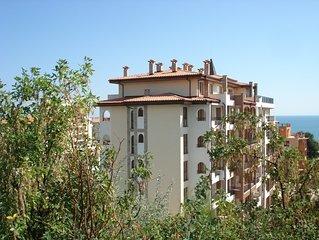 Appartement de standing pour 4 personnes a Sveti Vlas a 100 m de la mer Noire