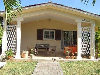 Villa située à 2 mn de la plage, proche commerces, plus beau coin de Maurice