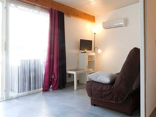 SEASONAL RENTAL STUDIO 20 M2 MONTPELLIER BEACHES