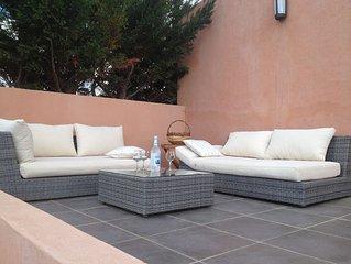 PROMOTION! Une villa de charme avec un beau jardin et une vue sur les montag