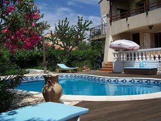 Location standing à Lattes , étage de villa indépendant.
