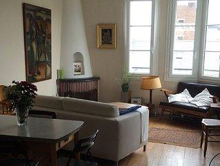 Grand appartement typique année 50