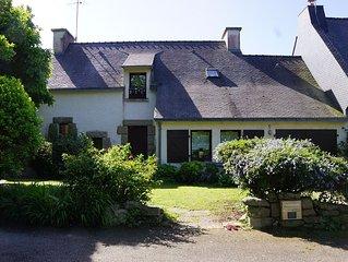 Idéal pour famille - Sympathique Maison avec jardin - 6p  - proche plage