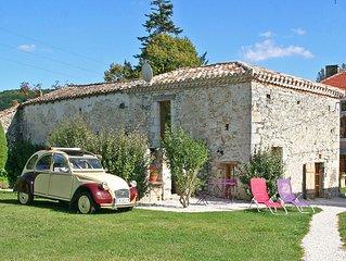 Gîte rural Isabelle de charme pour 2 pers avec Piscine en région Midi Pyrénées