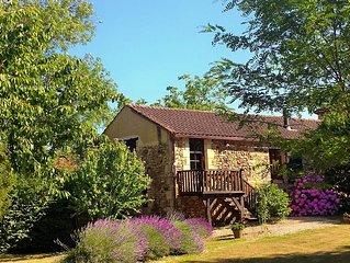 French Holiday rental in the Perigord. XVIII th Century stone farmhouse.