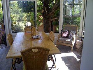 Sweet home in a calm garden, Vernon. Petite maison d'amis à 5 minutes de Giverny