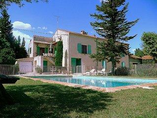 Gite avec piscine  'Le Mas Morelly' a Avignon - Ile de la Barthelasse.