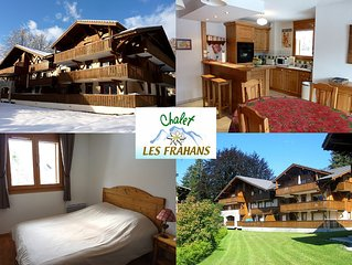 Idealement place hiver/ete, grand balcon, WiFi & menage inclus