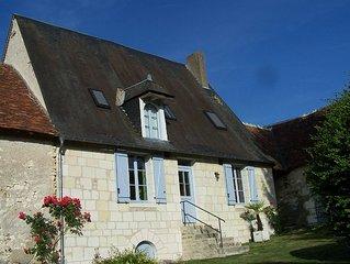 Maison ancienne proximité zoo Beauval et Chateau de Valençay