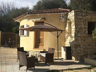 charmante maison individuelle, quartier residentiel, T3, terrasse, jardin