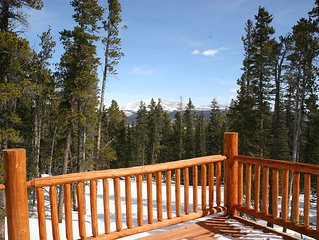 Spectacular Views In Mountain Home Retreat 30 Min From Breckenridge!