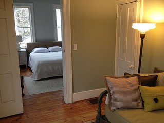 Serene Two Bedroom Suite To Rent In Historic Home