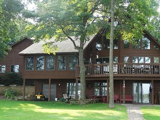 Beautiful 4 Bedroom Lake Home On Level Lot With Sandy Beach