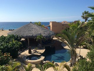 Beachfront, private pool, palapa, stunning views