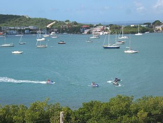 Fully Equipped Villa For 4 Guests With Spectacular Bay View At Culebra Island