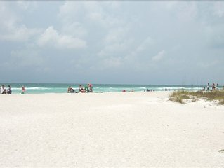 Gorgeous Home Just Steps to Beach, Miles of White Sandy Beach