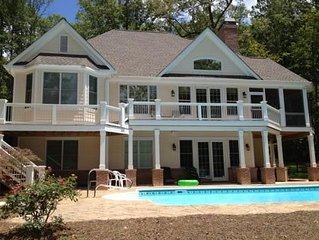 Lake House Rental, Harbor Club, Pool, Located On