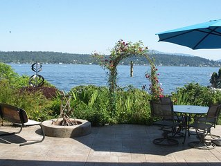 Lake Sammamish Waterfront: 20 Mins from Seattle, Tesla 80A HPWC EV Charging
