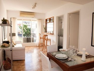 Bright 1BR in Trendy Recoleta