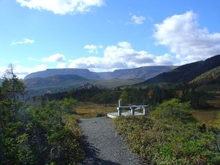 Chalet retreat in the heart of Gros Morne National Park