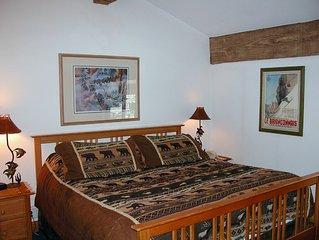 BC West #P-4: Luxury 2BR Condo w/FREE Skier Shuttles, Heated Pool, Hot Tubs
