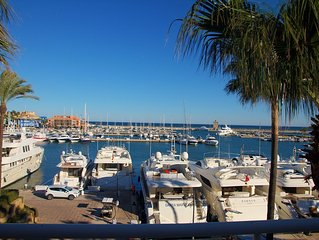 Luxury Duplex Penthouse In Sotogrande With Spectacular Sea And Marina Views