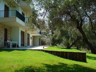 New villa in a quiet greenery near the most beautiful seaside