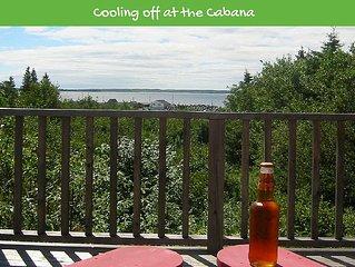 Hunts Point Cabana: Ocean views & access, plenty of sandy beaches, golf & surf