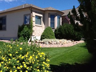 Spacious Turn-key Home for Rent - north Colorado Springs near Air Force Academy
