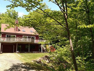 NH Mountain Getaway! Secluded Location - 30 min / Waterville, 37 min / Cannon