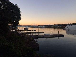 Day Island Waterfront Getaway