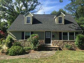 Refinished W/Best Backyard In Annapolis, Minutes From Downtown & Naval Academy