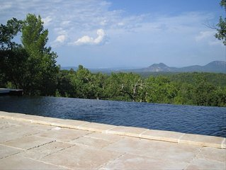 Magnificent View with a Pool Near Aix-En-Provence.