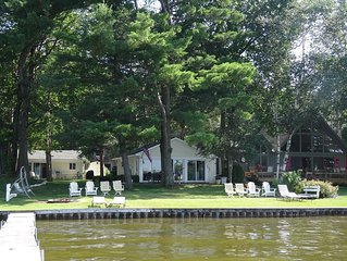 Home on the lake. Walk out your door for Swimming, boating or morning coffee.