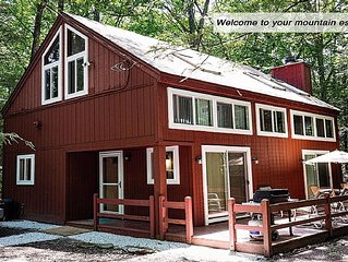 New Pocono Forest House, Close To Camelback & More