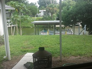 Fish Camp-South Of New Smyrna With Canal (Oak Hill) Close To Space Coast/Orlando
