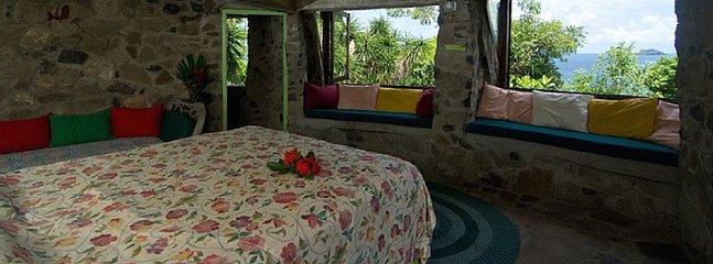 Guest en suite bedroom with ocean view