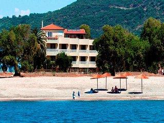 Villa Drossia beachfront family flats