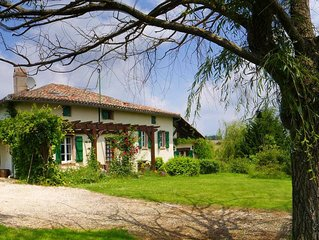 Breathtaking Views - French Farmhouse & Pool - Southwest France