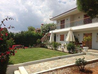 A Terrace With Sea Views, Villa Lagonisi Sklaveniti